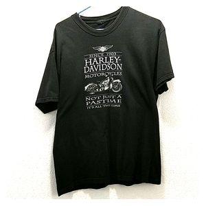 Harley Davidson Unisex Short Sleeve Shirt L